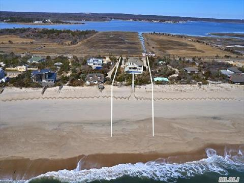 Quogue 105 ft Oceanfront Home
